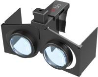 """Smiledrive Mini Foldable Virtual Reality (VR) 3d, Portable Google Glass For All 4.0-6.0"""" Smart Phones Video Glasses(Black)"""