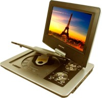 Victor Victor TFT Swivel Screen Portable With 3D Feature +GAME+MP3+USB+SD Card Support 9.8 inch DVD Player(Golden Grey)