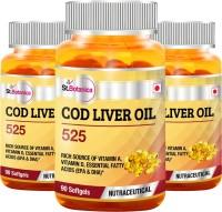 St.Botanica COD Liver Oil 525 (Pack Of 3)(270 No)