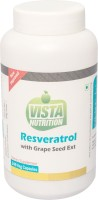 Vista Nutrition Reseveratrol with Grape Seed Ext(240 No)