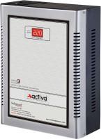 ACTIVA ( 5 KVA /140-300 VOLTS SILVER-BLACK ) DIGITAL AC VOLTAGE STABILIZER(SILVER-BLACK)