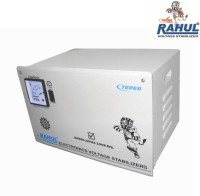 View RAHUL ALPHA ZONE C10 KVA/40 AMP In Put 140-280 Volt 3 Step Main Line Copper Transformer Auto Matic Voltage Stabilizer(LG GRAY) Home Appliances Price Online(RAHUL)