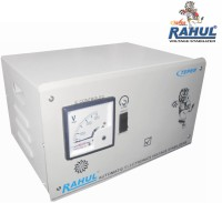 View RAHUL A-ZONE DLX A10 KVA/40 AMP In Put 100-280 Volt 5 Step Main Line Auto Matic Stabilizer Voltage Stabilizer(LG GRAY) Home Appliances Price Online(RAHUL)