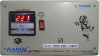View Rahul Base-3 a3 Digital 3 KVA/12 AMP 140-280 Volt 3 Step Main Line Use Up to 3 KVA Load Auto Matic Digital Voltage Stabilizer Auto Matic Stabilizer(LG Gray) Home Appliances Price Online(RAHUL)