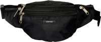 Aoking Black Travel Waist Pouch(Black)
