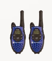 View DE Motorola Talkabout T5720 Walkie Talkie(Blue, Black) Home Appliances Price Online(DE)