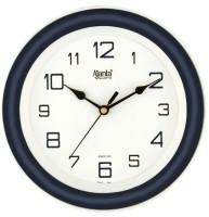 Ajanta Analog Wall Clock(Blue, With Glass)