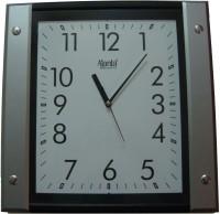 Ajanta Analog Wall Clock(Black, With Glass)