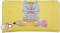 Cuddle Girls Multicolor Fabric Wallet(8 Card Slots)