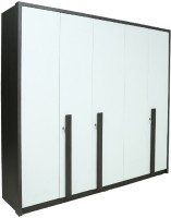 RAWAT SERIES 36 Engineered Wood 5 Door Wardrobe(Finish Color - MALDAU ACACIA)