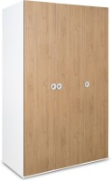 Alex Daisy Country Engineered Wood 3 Door Wardrobe(Finish Color - Oak & White)