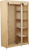 View Novatic Metal 2 Door Wardrobe(Finish Color - Beige) Furniture (Novatic)