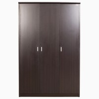 Godrej Interio SUPER MAGNA 3 DR WARDROBE Engineered Wood 3 Door Wardrobe(Finish Color - Indian Mahagony)