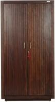 Godrej Interio Gruvz Solid Wood 2 Door Wardrobe(Finish Color - Walnut)
