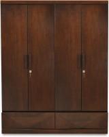 @home by Nilkamal Nixon Engineered Wood 4 Door Wardrobe(Finish Color - Cherry)