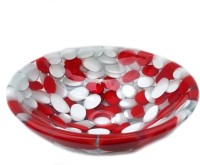 Lucky Red Pebbles LWW03 Table Top Basin(Red)
