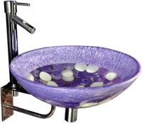 Lucky Violet Blue Mix SRP09 Table Top Basin(Violet Blue Mix)