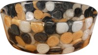 Lucky Amber Gold DZS01 Table Top Basin(Amber Gold)
