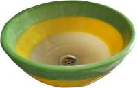 Lucky NWB03 Table Top Basin(Yellow Shine)
