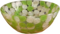 Lucky Green Leaves DZS19 Table Top Basin(Green Leaves)