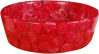 Lucky Red Pot DZS03 Table Top Basin(Red Pot)