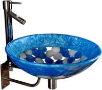 Lucky Sea Blue SRP12 Table Top Basin(Sea Blue)