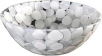 Lucky White Stones NPB21 Table Top Basin(White Stones)