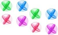 Trisha Set of 8 Laundry Balls Detergent Bar(300 g, Pack of 8)