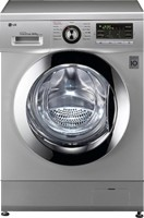 LG 8/4 kg Fully Automatic Front Load Washer with Dryer(F1496ADP24)