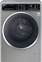 LG 10.5 kg Fully Automatic Front Load Washer with Dryer(FH4U1JBHK6N)