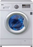 LG 7.5 kg Fully Automatic Front Load Washing Machine White(FH0B8EDL21)