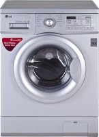 LG 7 kg Fully Automatic Front Load Washing Machine Silver(FH0B8QDL25)