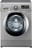 LG 8 kg Fully Automatic Front Load Washing Machine Silver(FH496TDL24)