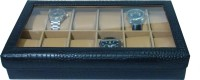 Essart Watch Box(Black, Holds 12 Watches)