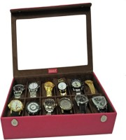 Essart Case 1 Watch Box(Pink Holds 12 Watches)