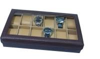 Essart Watch Box(Brown Holds 12 Watches)