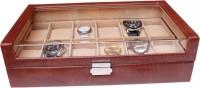 Essart Case 15 Watch Box(Tan, Holds 12 Watches)