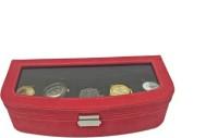 Essart Case 40 Watch Box(Red Holds 5 Watches)