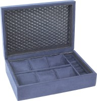 DSIGNER JEWELLERY BLUE Watch Box(BLUE Holds 6 Watches)