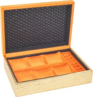 DSIGNER DSGJWELORNGGLD_1 Watch Box(ORANGE GOLD Holds 6 Watches)