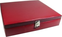 Essart Protection Case for watches Watch Box(Red, Holds 18 Watches)