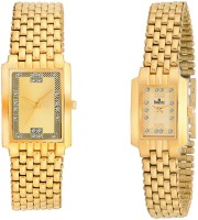 Swisstyle SS-9211G-077G Dazzle Analog Watch For Couple