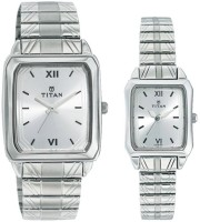 Titan 15812488SM01 Bandhan Analog Watch For Couple