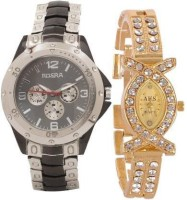 Rosra NR0254 Analog Watch  - For Couple