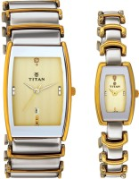 Titan 13772385BM02 Klassik Analog Watch For Couple