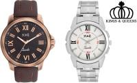 K&Q Timera Analog Watch  - For Men