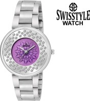 Swisstyle SS-LR022-PRP-CH  Analog Watch For Girls
