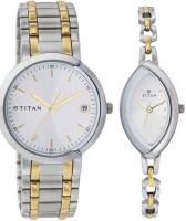 Titan 19632963BM01 Bandhan Analog Watch For Couple