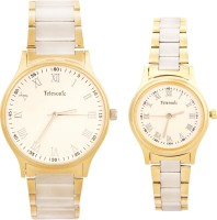 Telesonic VICTORIA1COUPLE Shubham Series Analog Watch For Couple