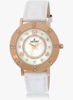 Escort E-1600-1380_White Analog Watch  - For Women